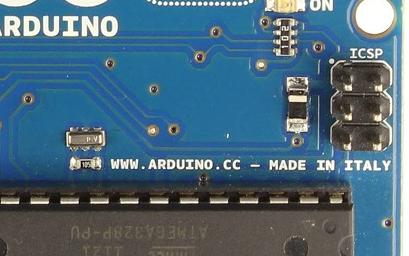 Puerta de programacion in chip
