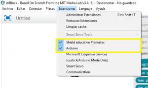 Extensiones mBlock