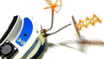 Antena Helicoidal y de hoja de trébol