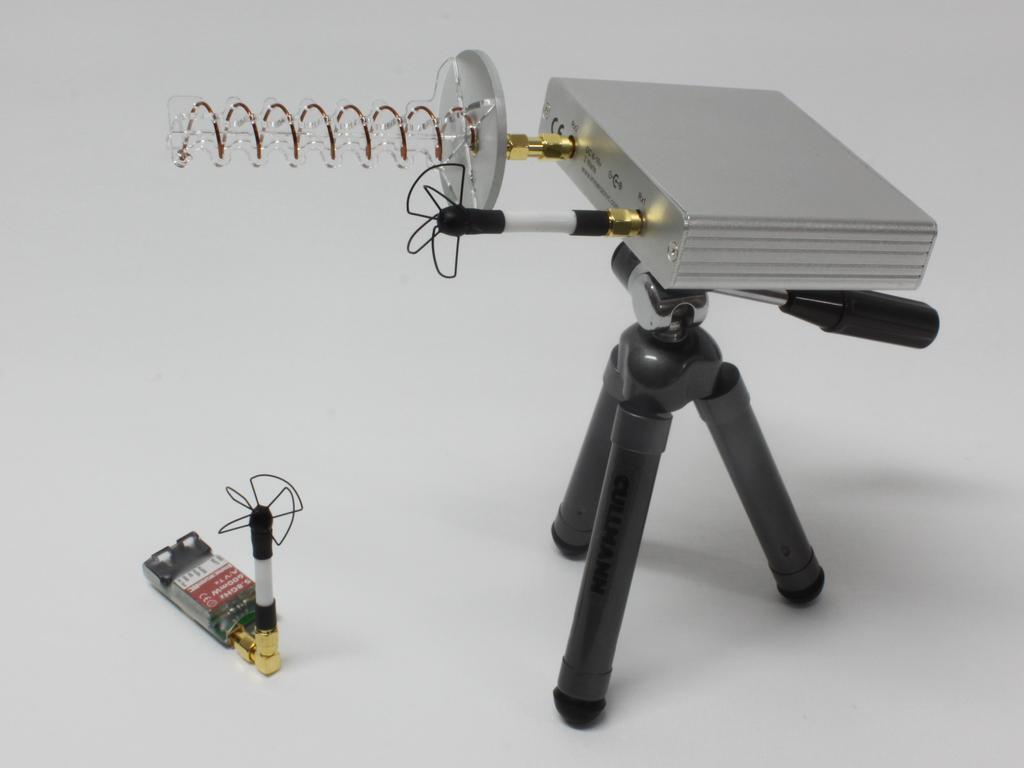 Antena direccional y antena omnidireccional