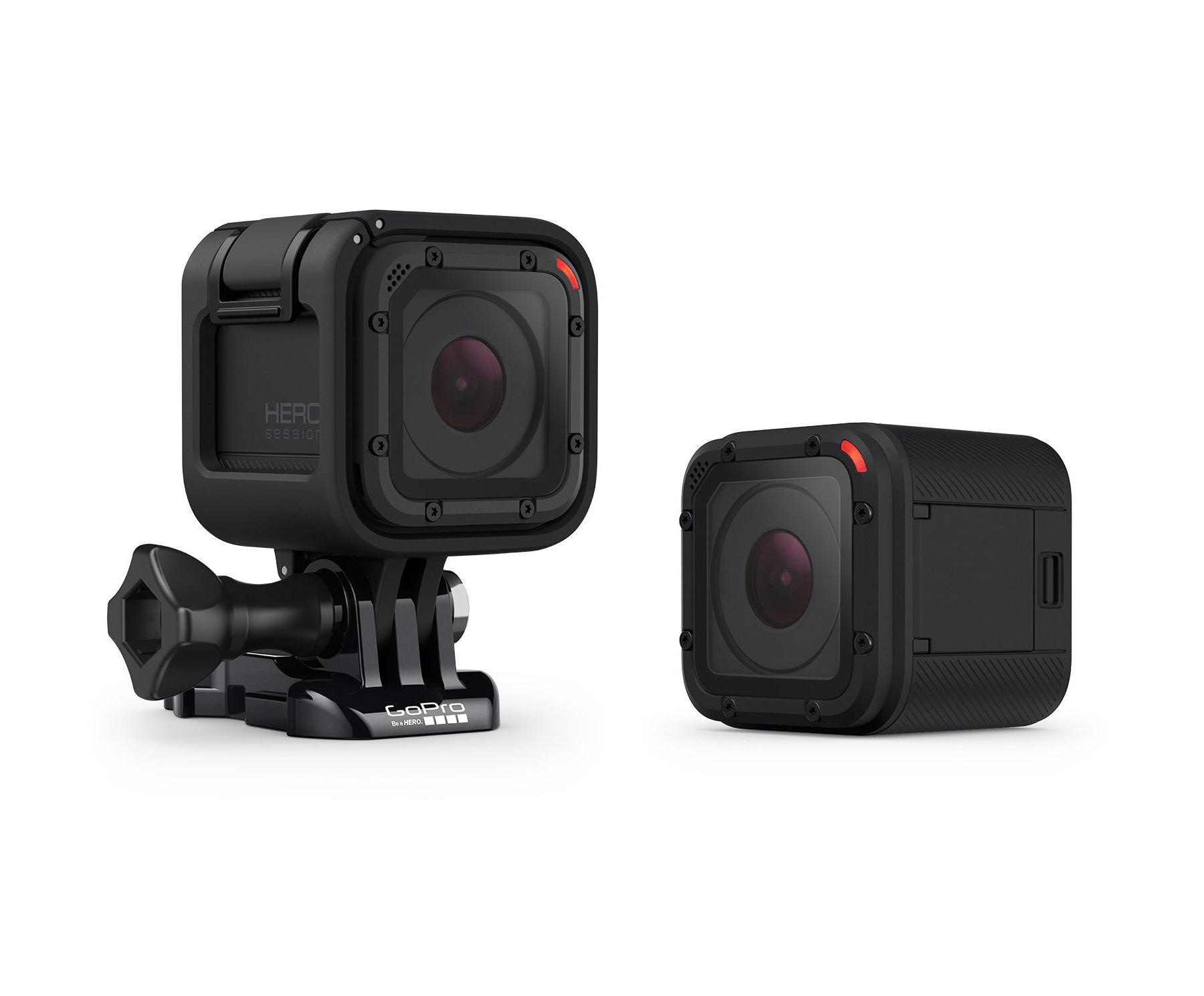 Dos cámaras de accion