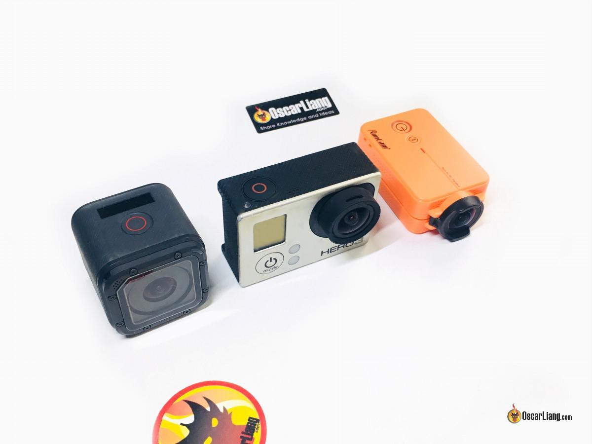 Diferentes cámaras de acción