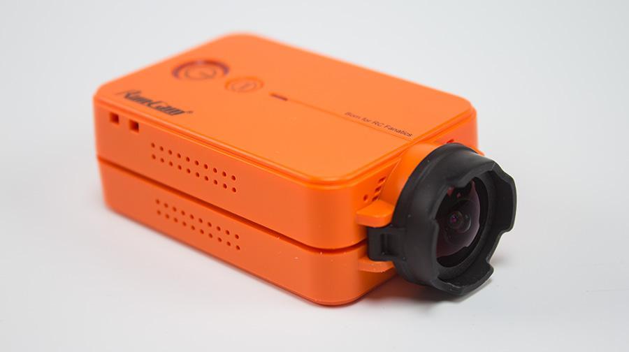 Cámara HD naranja