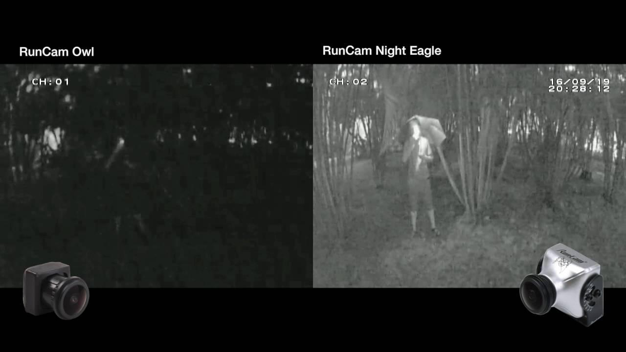 Runcam Night Eagle y Owl 2