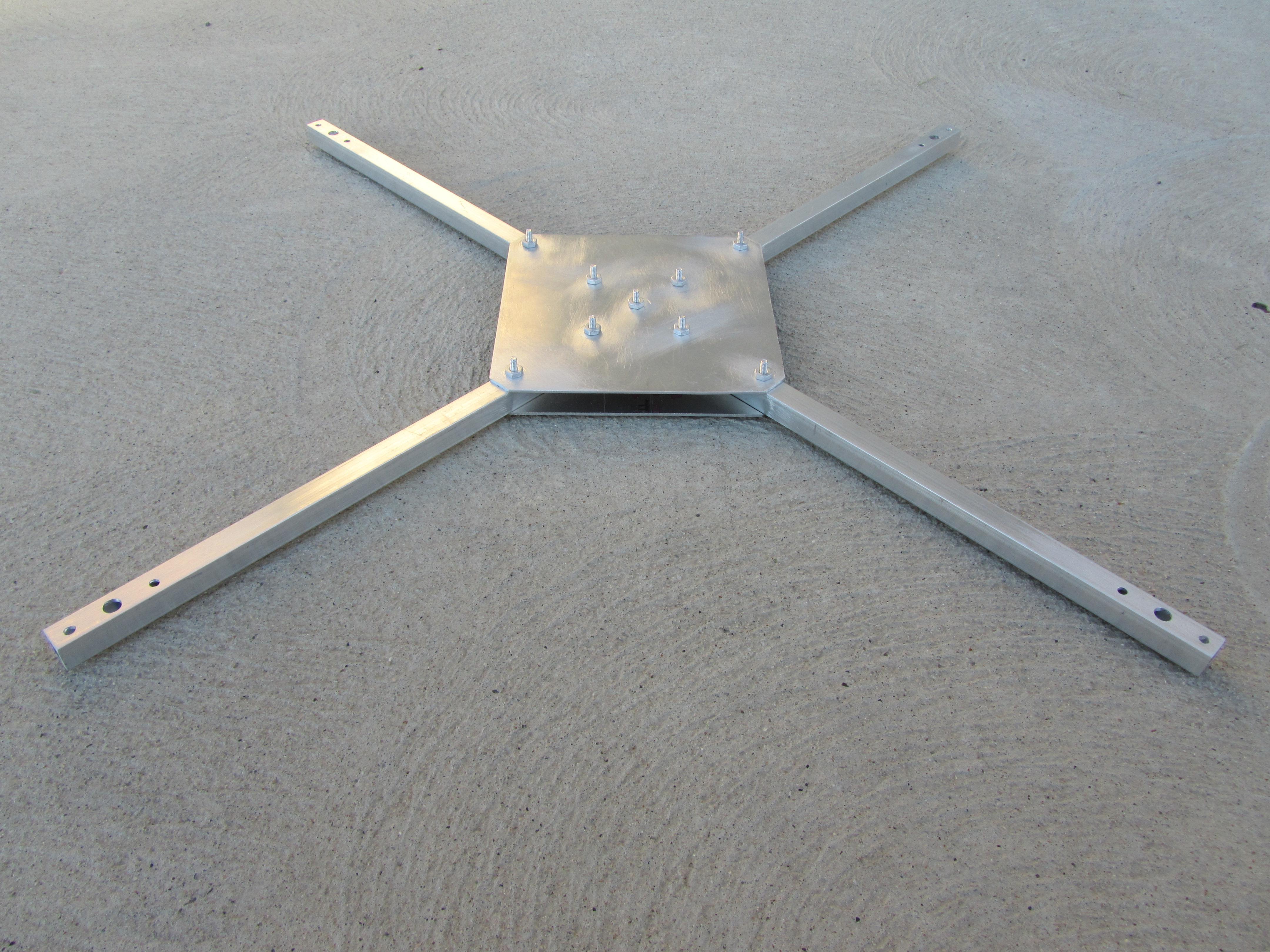 Cuadro de aluminio