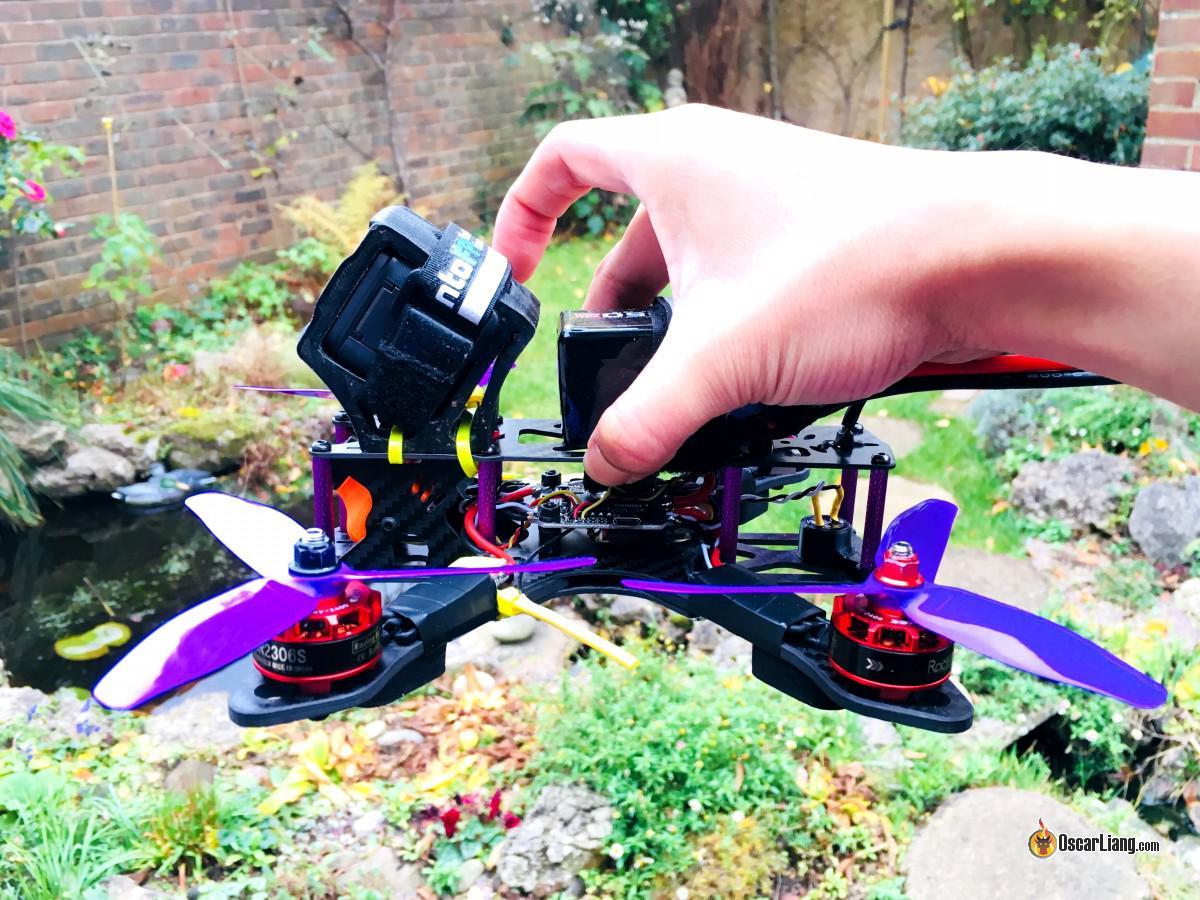 C de G de un Dron