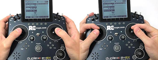 Cómo agarrar los mandos