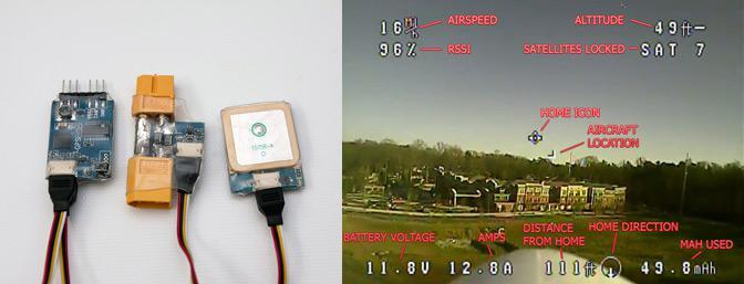 On Screen Display Data
