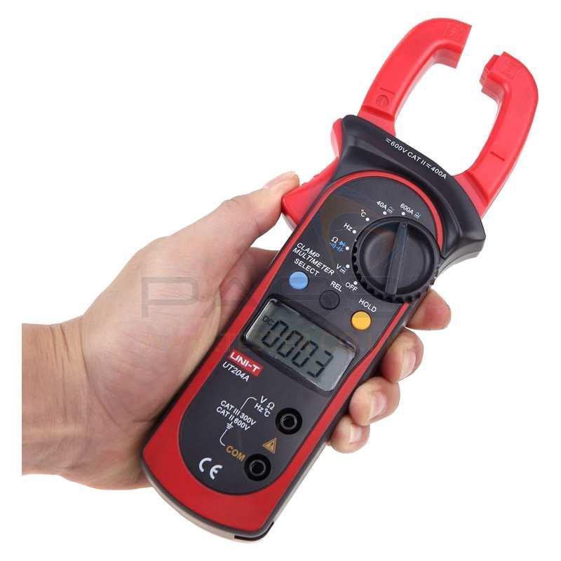 amperímetro para altas intensidades