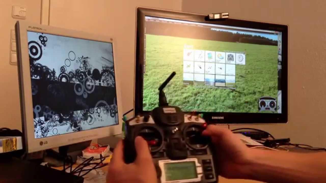 vuelo virtual de drones