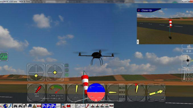 Simulador de vuelo AeroSim R.C