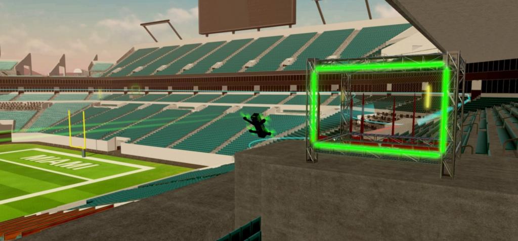 Simulador de vuelo de drones 4