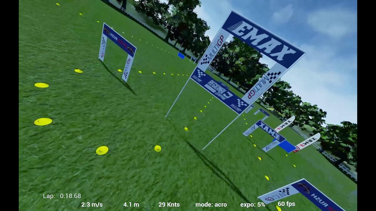 Simulador de vuelo RotorRush