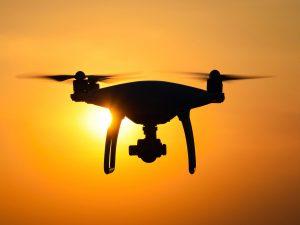Cuadracóptero con cámara