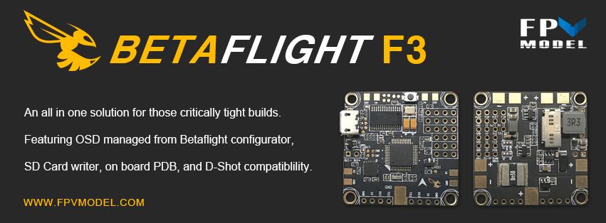 Procesador Betaflight F3