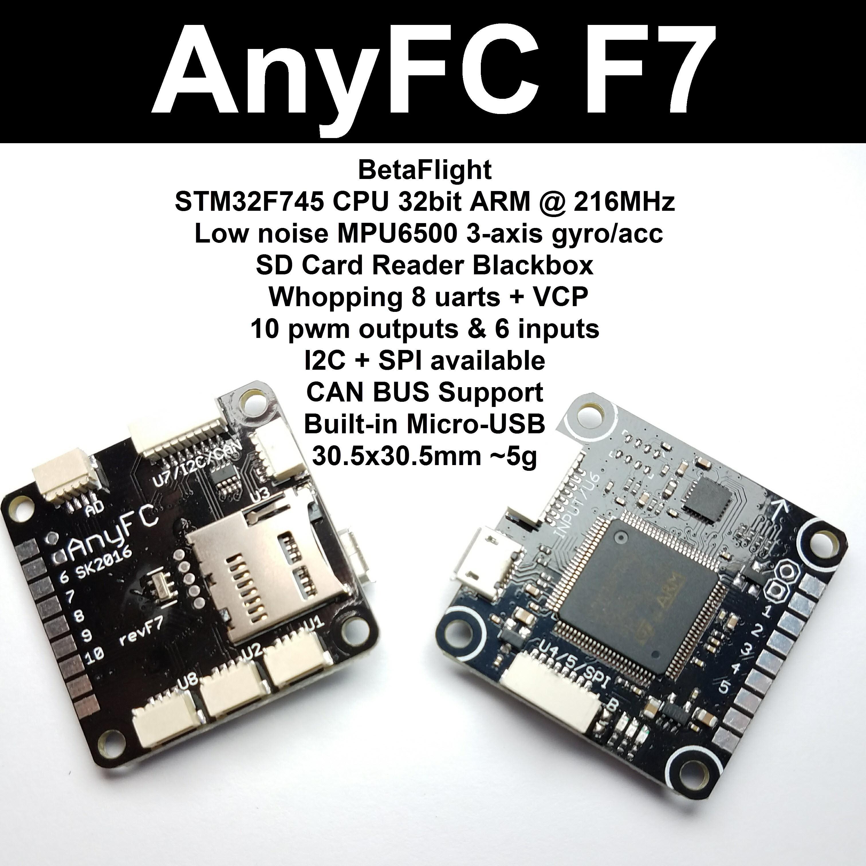 FC con un procesador F7