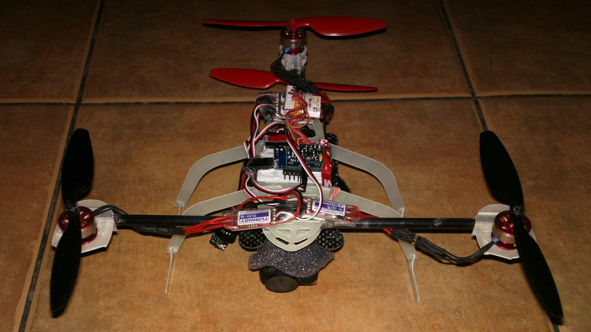 Multicóptero en Y4