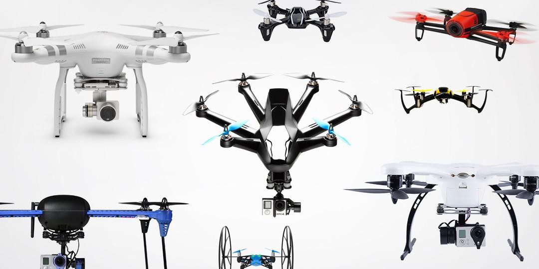 Selección de multicópteros
