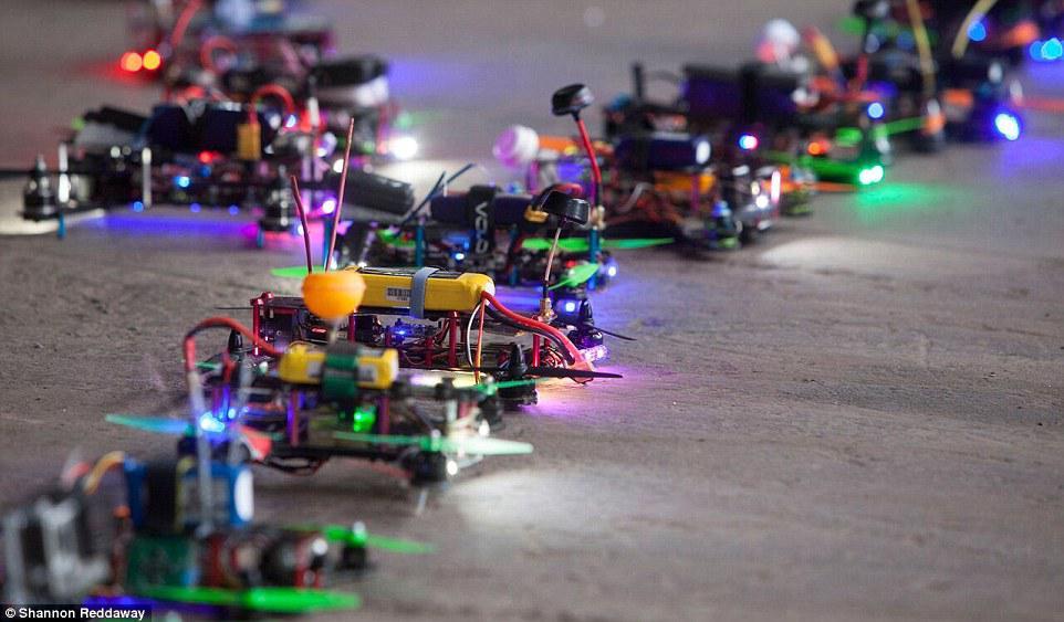 Mini quads de carreras - racing quads