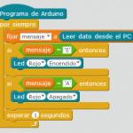 Kit inicio mBlock: Recibir mensajes del PC en Arduino