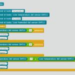 Kit inicio mBlock: DHT11