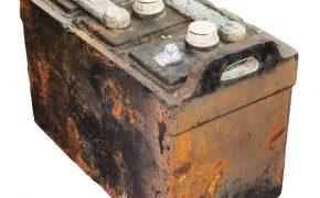 batería vieja