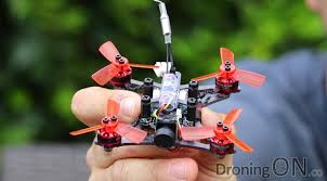Brushless microdron