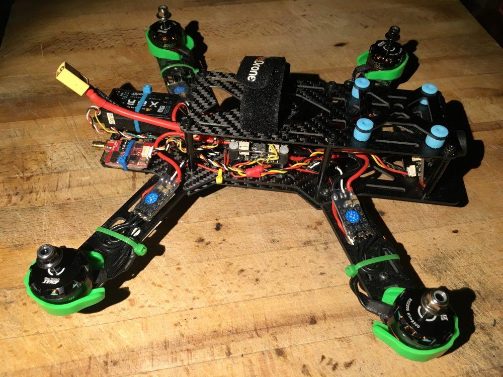 El dron ya completo