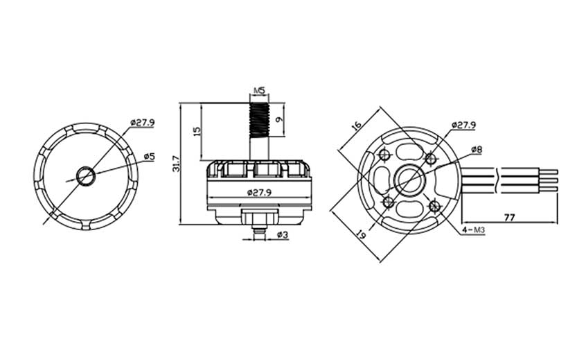 Motores dron