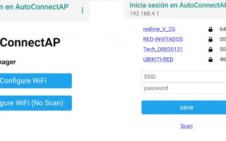 Acces point menu