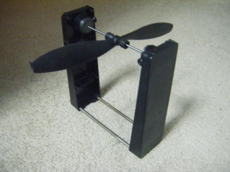 banco para el equilibrado de hélices
