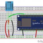 Servidor web con esp8266 y DHT11