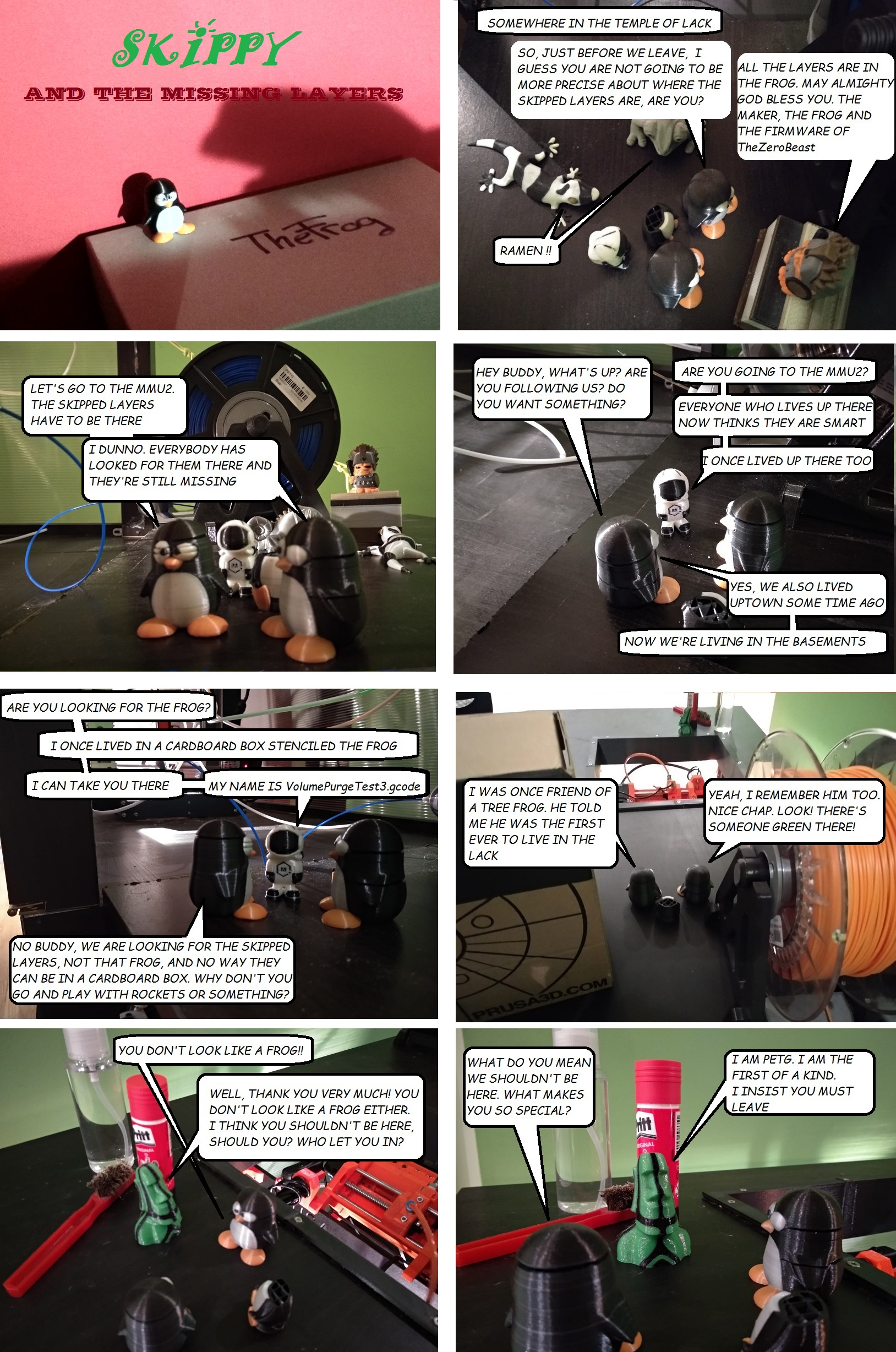Skippy the penguin page 3