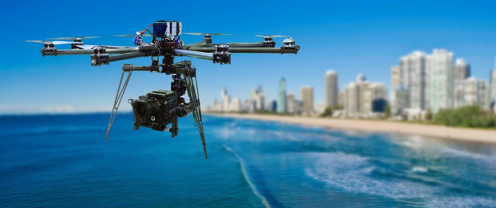 Plataforma fotográfica aerea