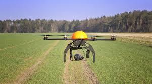 dron agrícola
