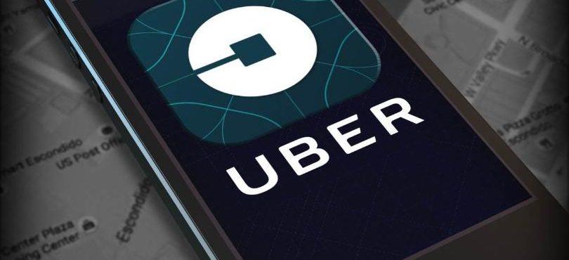 Smart phone con Uber