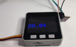 Sensor bme280 I2C