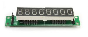 Display BCD 8 digit