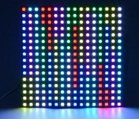 Matriz neopixel x16