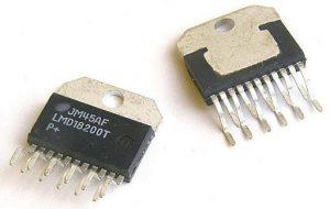 Imagen del chip integrado